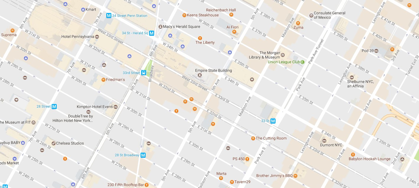 Googles New And Desperate Attempt To Be Social Tech Nation News - Google map nyc hotels