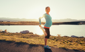 How long does postpartum rehabilitation for sports take?
