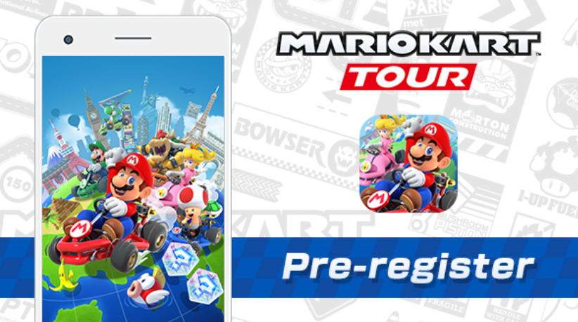 Mario Kart Tour pre-register