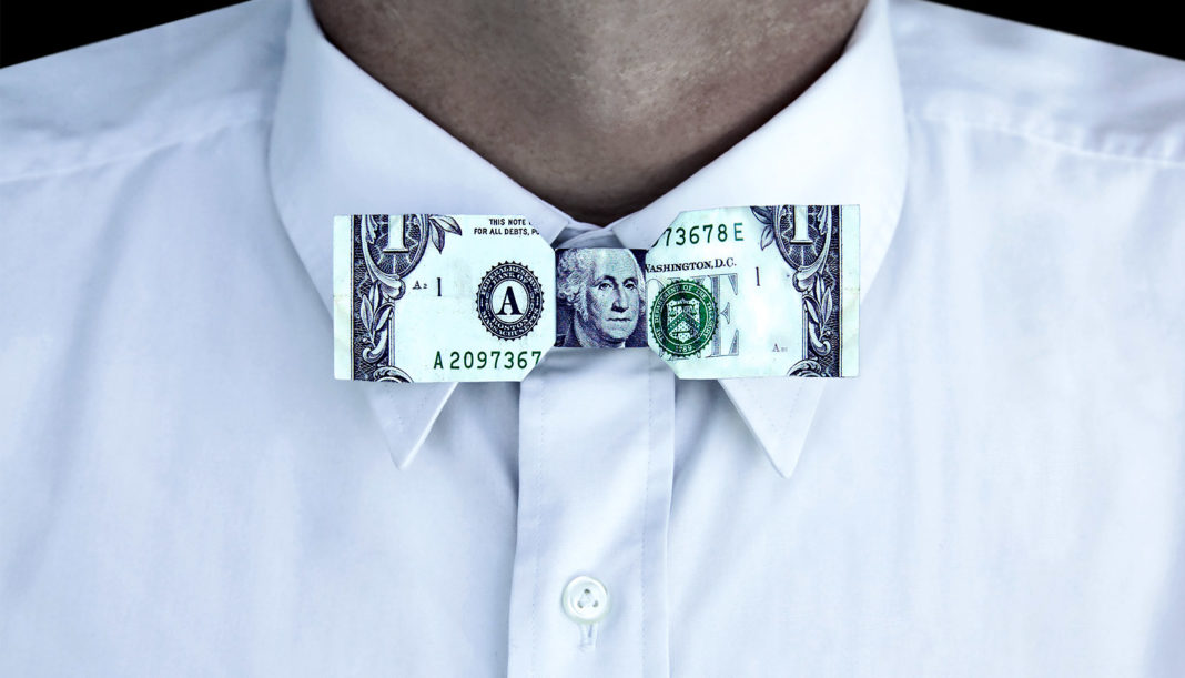 Money bowtie