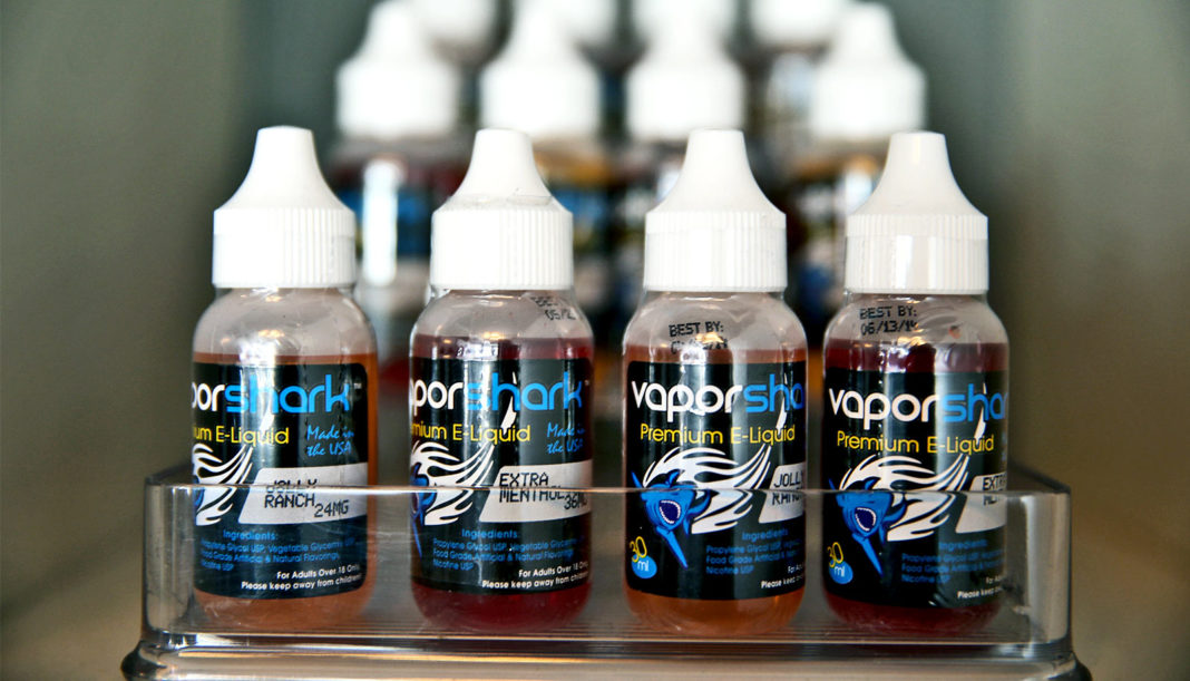 Vaping liquid flavors