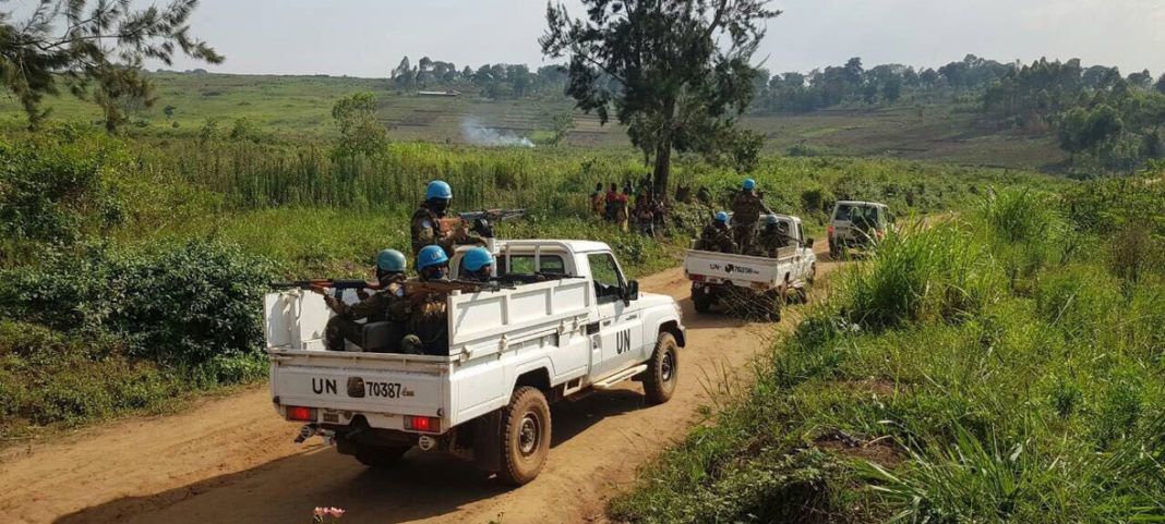 Peacekeepers Stabilization Mission in the Democratic Republic of the Congo