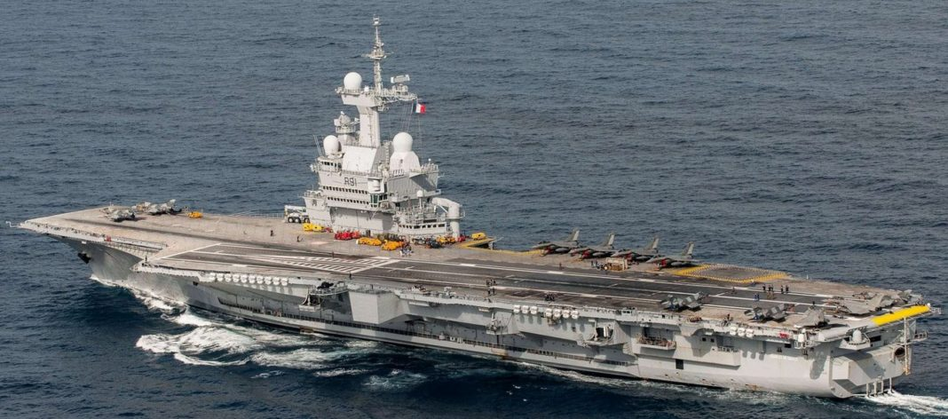French nuclear aircraft carrier Charles de Gaulle