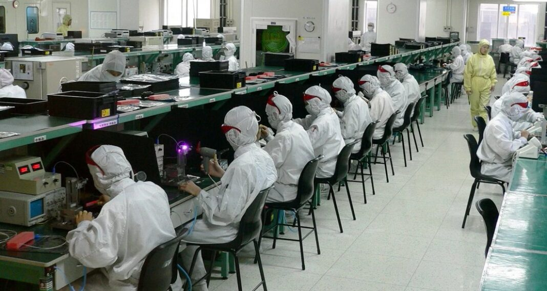 Foxxcon factory in China