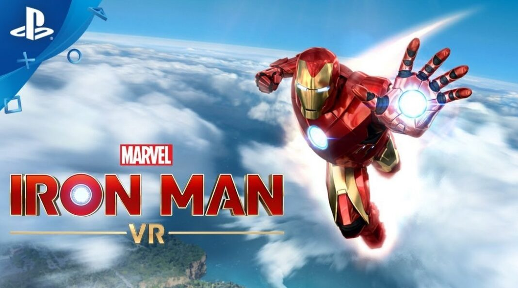 Marvel Iron Man VR Playstation PS4