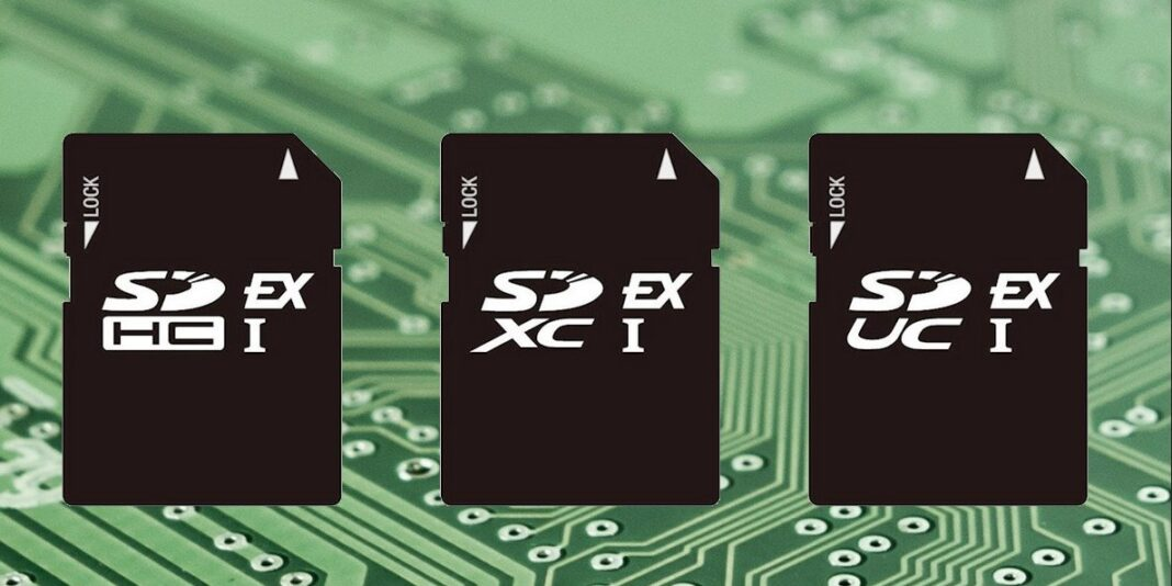 New SD 8.0 memory cards