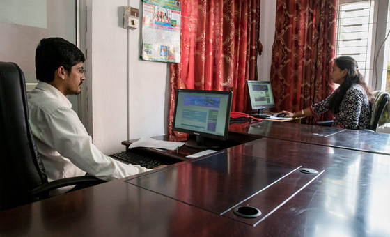 There may be opportunities for developing countries, like Nepal, to benefit from a global move to remote working., by World Bank/Peter Kapuscinski