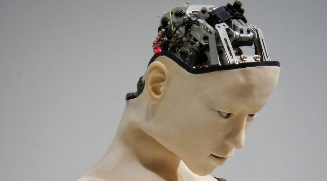 Robot with artificial brain
