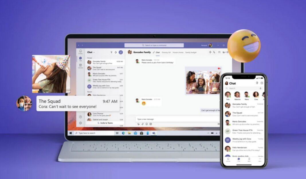 Microsoft Teams for family and friends
